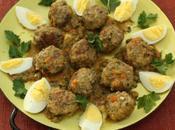 Meatballs Almond Sauce Albondigas Salsa Almendra