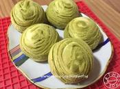 Matcha Bean Chestnut Flaky Spiral Mooncake