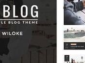 Blog/ Magazine WordPress Theme Under