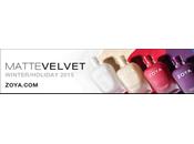PRESS RELEASE: Zoya Matte Velvet Winter/Holiday 2015