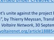 Let's Unite Against Project Al-Qaïda Daesh Thierry Meyssan