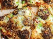 Sauerkraut Meatball Pizza #SundaySupper