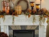It's Late Inexpensively Decorate Your Mantel FALL! Tips Tricks