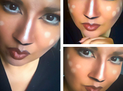 Deer Halloween Makeup Idea