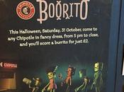 #HappyHalloween Bargain Booritos Charity Thanks @ChipotleUK @jamieoliver