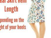 Find Your Ideal Skirt Dress Length