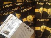 Invitation Paris Black Passport