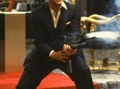 Tony Montana's Chalkstripe Showdown Suit Scarface