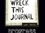 Wreck This Journal–Pages 90-93 Trace, White