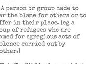 Refugee Scapegoat