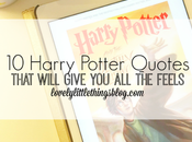 Harry Potter Quotes That Will Give Feels