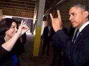 Obama Makes Devil's Horns Hand-sign Turkey