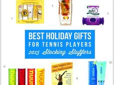 Best Holiday Gifts Tennis Players 2015 Stocking Stuffers