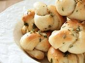 Easy Brown Butter Herb Garlic Knots