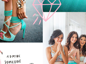 Wedding Colour Palette Turquoise Pink