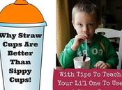 Straw Cups Toddlers Better Than Sippy Cup?
