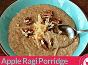 Apple Ragi Porridge Babies