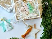 DIY: Tasseled Star Ornaments