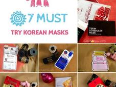 Must Korean Beauty Masks