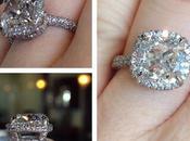 Soft Square Halo Engagement Rings