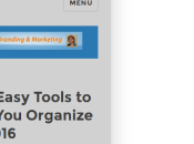 Four Easy Tools Help Organize 2016