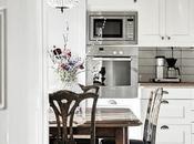 Using Vintage Chandeliers Kitchen