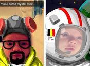'Snapdad' Creates Adorable Masterpieces While Baby Sleeps