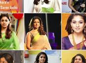 Nayanthara's Saree Looks!