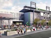 Architectural Visualization Renderings Baseball Park Alabama