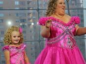 Toddlers Tiaras: Honey Boo-Boo Child Gets Super-Sized. Toddler Moms Pageant Treatment Prove That Much Never Enough.