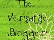 Versatile Blogger Award Just Made