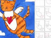 Draw Angel Kitty