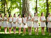 From Archives…Neutral Bridesmaids Dresses Trend
