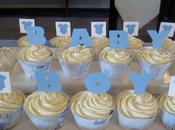 Baby Shower Cupcake Wrappers Toppers