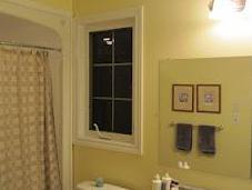 Bathroom Facelift: Before After