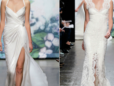 Carpet Glamour with Monique Lhuillier's Wedding Gowns