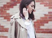 Classic Trench Coat with Levi's