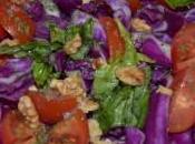 Insalata Cappuccio Rosso. Salad with Cabbage