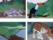 Animal Cards Etsy Shop: Toucans, Jaguars, Black Bears More