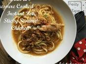 Fran Sticky Sesame Chicken Pressure Cooker Instant