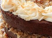 German Chocolate Cake with Glaze Buttercream
