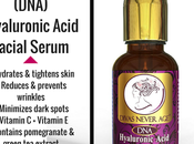 'Divas Never Age' Organic Hyaluronic Acid Facial Serum with Vitamin Green Extract (Vegan Friendly)