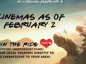 "Bike Movie Year ""Lakbay2Love"" Cinemas"