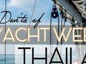 Dont's Yacht Week Thailand