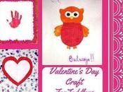 Handmade Card Valentine's Craft Toddlers
