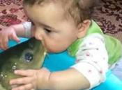 Pictures Babies Kissing Animals