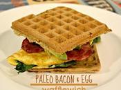 Paleo Bacon Wafflewich {gluten Free, Dairy Free}