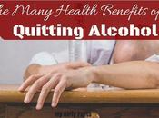 Many Health Benefits Quitting Alcohol