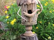 Make Whimsical Driftwood Birdhouse