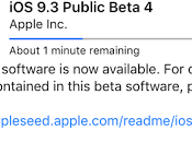 Apple Seeded Beta Developers Public Testers!